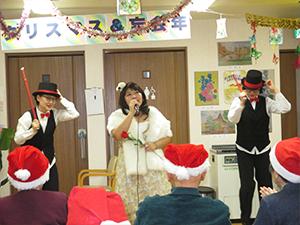 通所リハビリテーション忘年会&クリスマス会について10