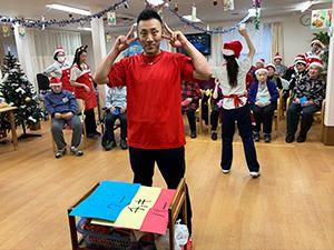 通所リハビリテーション忘年会&クリスマス会について11