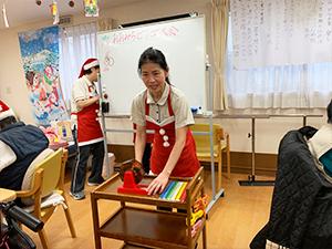 通所リハビリテーション忘年会&クリスマス会について12