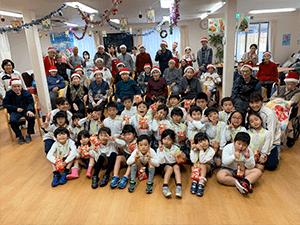 通所リハビリテーション忘年会&クリスマス会について3