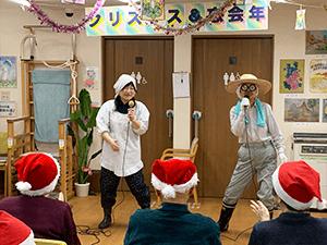 通所リハビリテーション忘年会&クリスマス会について5